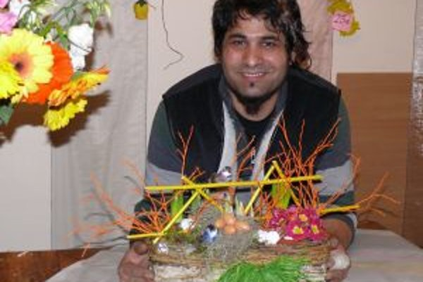 Milan Danihel Guru najradšej aranžuje živé kvety.
