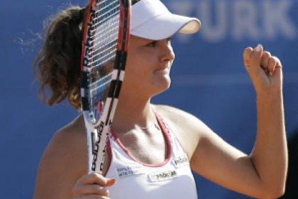 Agnieszka Radwanská je najväčšou poľskou nádejou.