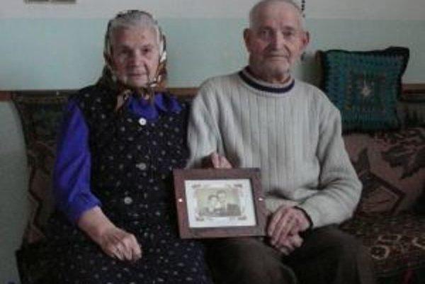 Anna a Augustín oslávili 28. decembra platinovú svadbu.