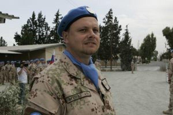 Peter Bystrický na misii strávi pol roka.
