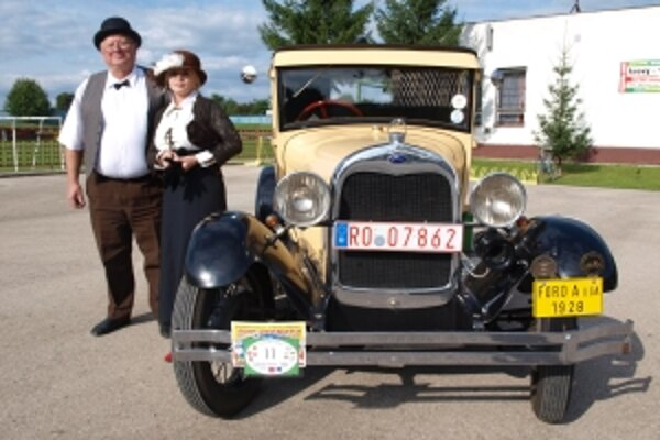 Ford z roku 1928 patrí k najkrajším v zbierke veteránov Petra Gažiho z častej.