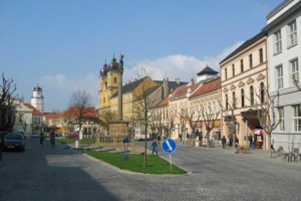 Mesto plánuje začať s rekonštrukciou Mierového námestia pravdepodobne na budúci rok.