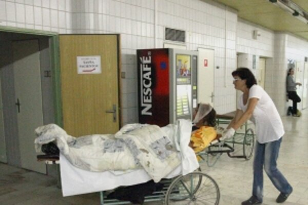 Každý zranený musel ísť na röntgen a neurologické vyšetrenie.