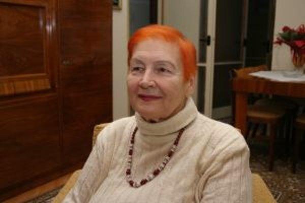 Spisovateľka Katarína Hudecová pokrstila svoje dve nové knihy.