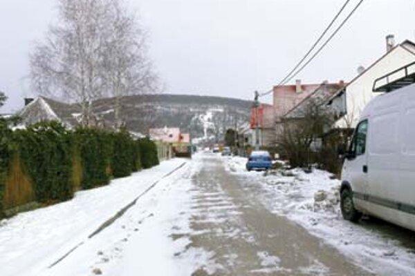 Jahodová ulica v Trenčíne.