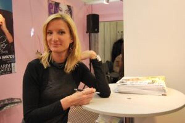 Adela Banášová si nenechala ujst ani tento ročník výstavy Beauty Forum Slovakia 2009.