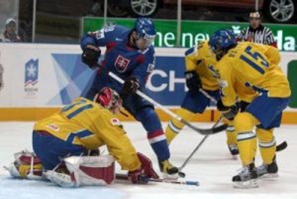 Slovensko prehraso Švédmi a so šampionátom sa lúči