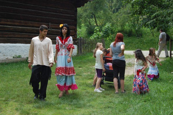 V skanzene v Martine na Jahodníckych hájoch patrí jeden deň v roku akcii Te prindžaras amen - Spoznajme sa.