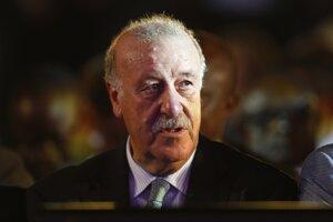 Tréner Španielska Vicente Del Bosque.<br>