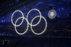Ceremoniál nebol bez chybičiek. Veľké vločky sa postupne menili na olympijské kruhy, pri jednej sa to však nepodarilo.