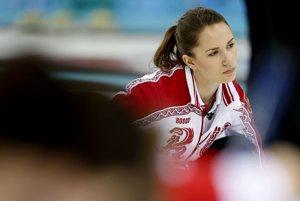 Anna Sidorova z Ruska.