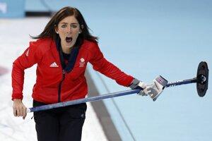 Britská curlerka Eve Muirheadová.