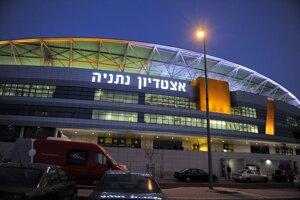 Futbalový štadión v izraelskom meste Netanya, kde hrá Slovensko s Izraelom.