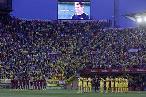 Minúta ticha pred zápasom vo Villarreali v nedeľu.