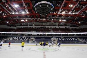 Slováci už trénovali v Minsku.
