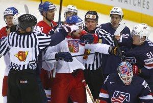 Štvrťfinále USA - Česko prinieslo mnoho dramatických momentov.