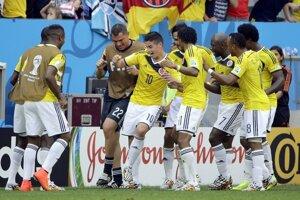 Kolumbijský oslavný tanec.