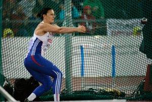 Slovenská atlétka Martina Hrašnová získala na ME pre Slovensko.