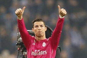Cristiano Ronaldo po zápase.
