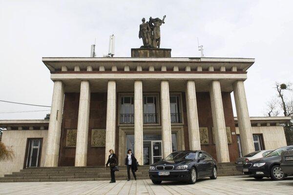 Budova Ekoiuventy v Bratislave.