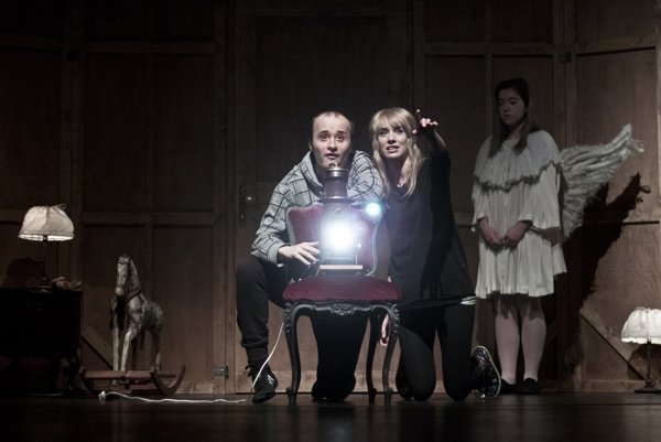 Táňa Pauhofová a Daniel Fischer ako Fanny a Alexander.