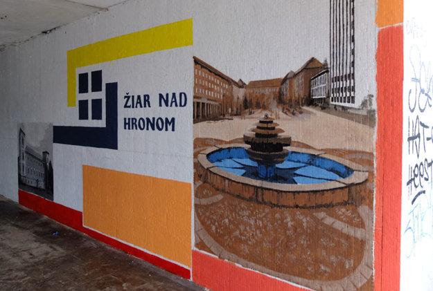 Logo mesta a centrum Žiaru.