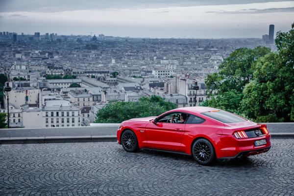 Ford Mustang je najpredávanejším športovým autom v Nemecku.