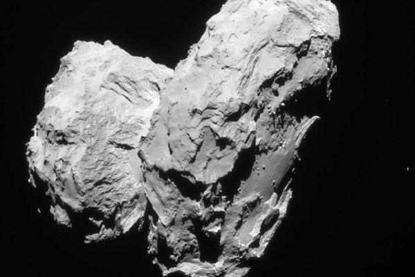 Kométa 67P/Čurjumov-Gerasimenko.