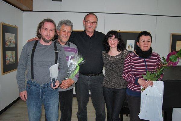 Víťazný súbor festivalu-Divadlo 21 z Opatovej.