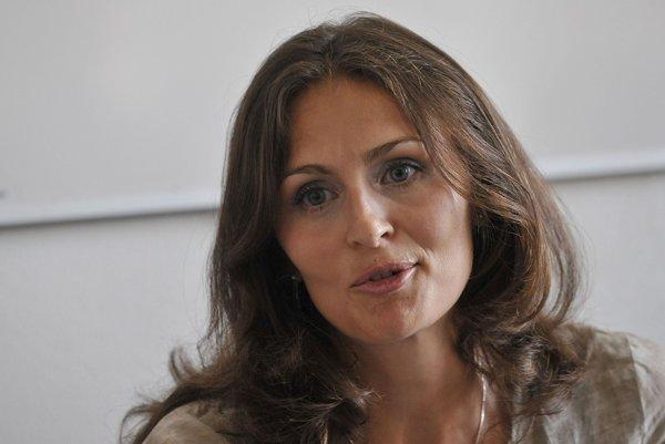 Štátna tajomníčka ministerstva zdravotníctva Andrea Kalavská