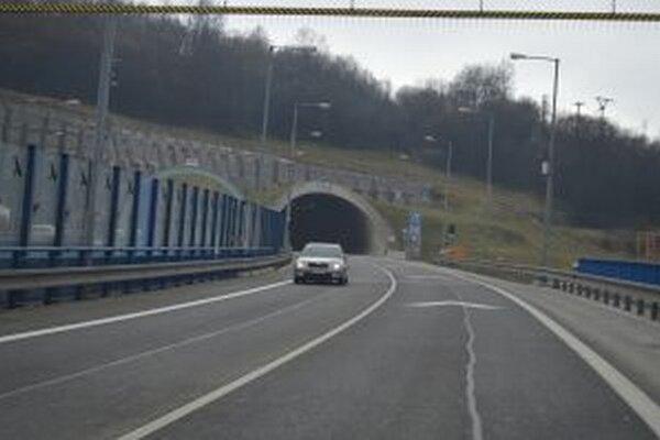 Tunel na Horelici cez víkend uzatvoria.