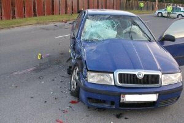 Dopravných nehôd je stále veľa. Niekedy stačí chvíľka nepozornosti.