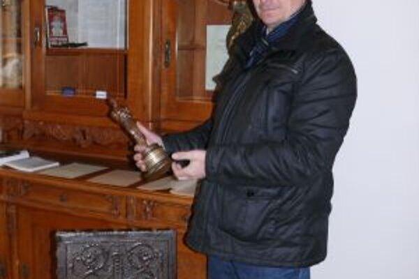Oscara môžete nájsť v Kronerovom dome v Staškove.