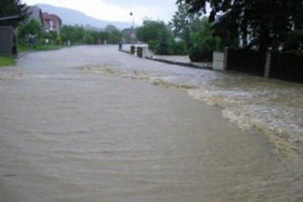 Povodne sú čoraz častým javom aj na Kysuciach