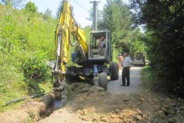 Verejný vodovod vyrieši problém s nedostatkom pitnej vody v osade Nižné Vane.