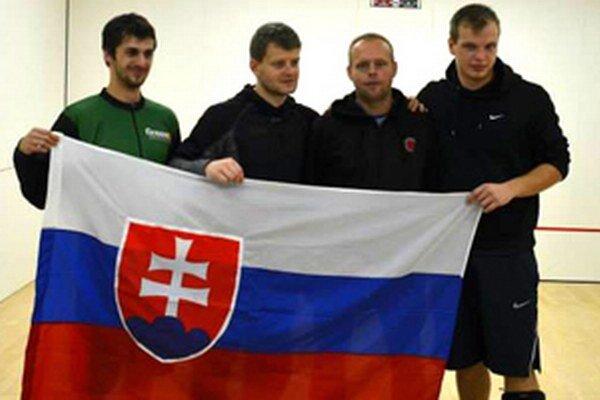 Zľava: Lukáš Valkovič, Juraj Pavlík, Vlado Murčo a Juraj Kozák.