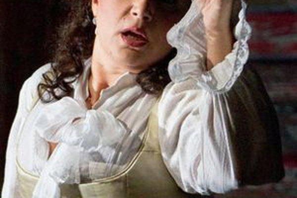 Barbara Frittoli ako Donna Elvira v novom naštudovaní opery Don Giovanni v Met