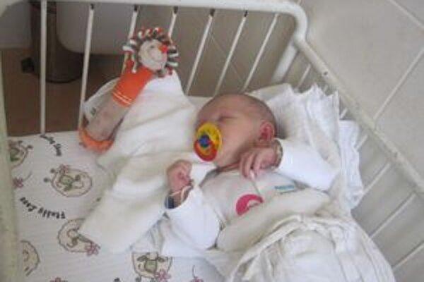 Slávku si z nemocnice odniesli noví rodičia z Liptova.