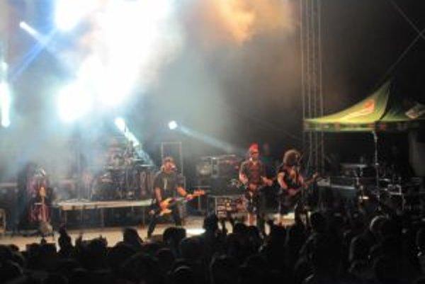 Headlinerom festivalu bola nitrianska rocková kapela Horkýže slíže.