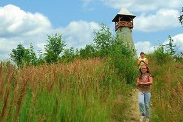 Rozhľadňa sa stala ďalšou atrakciou obce Stará Bystrica.