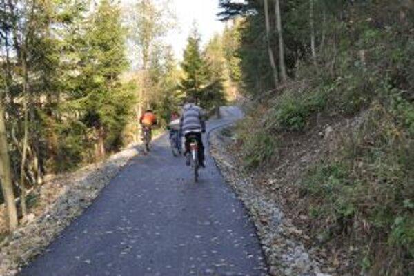 Beskydská zelená cesta slúži svojmu účelu takmer rok.