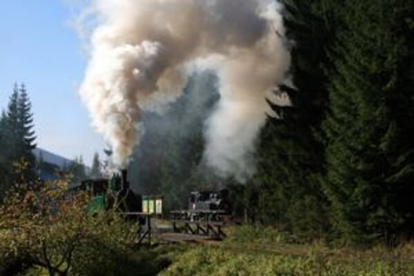 Historická železnička je stále najväčším lákadlom pre turistov.