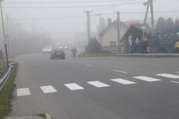 Presun po frekventovanej ceste bude bezpečnejší.