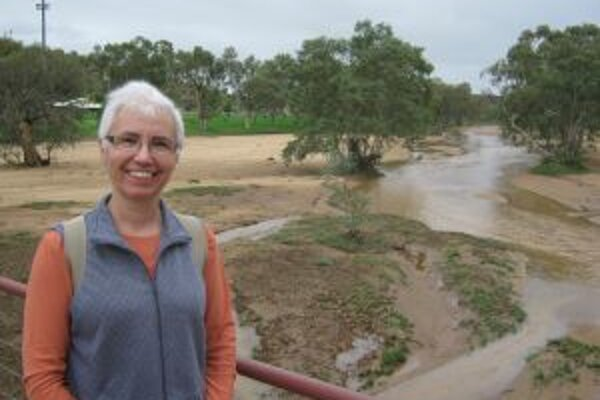 Vidieť v tejto austrálskej rieke vodu je podľa rodáčky z Kysúc raritou.