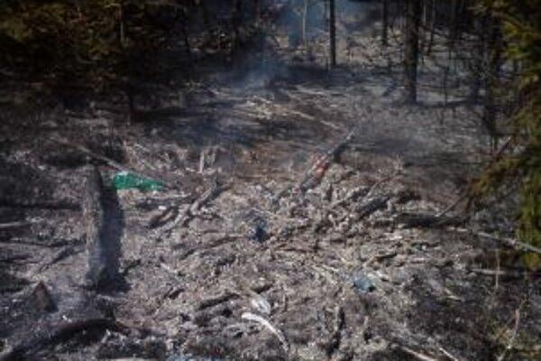 Požiare vyčíňali v rôznych kútoch Kysúc.