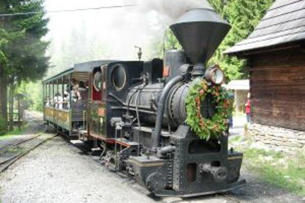 Deň železnice si môžu návštevníci vychutnať aj v kysuckom skanzene.