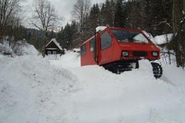 Snehová kalamita vytiahla z obecných pokladníc nemalé peniaze.