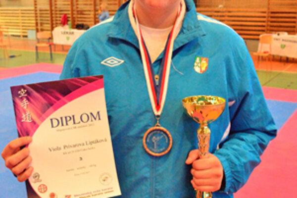 Viola Prívarová sa z úspechu na MSR žien veľmi tešila.