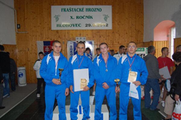 Za Krásno štartovali Marek Murčo, Patrik Poštek, Matej a Peter Poláčkovci.