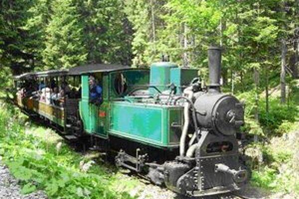 Historický lesný vláčik je jednou z najväčších atrakcií Kysúc.